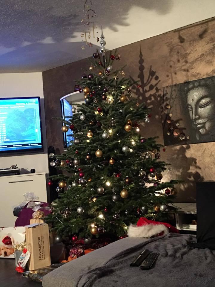 Der Christbaum von Nina