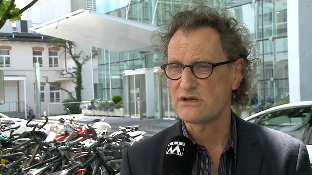 «Die Gespräche sind offen und transparent»: Badens Stadtammann Geri Müller ist in ständigem Kontakt mit GE.