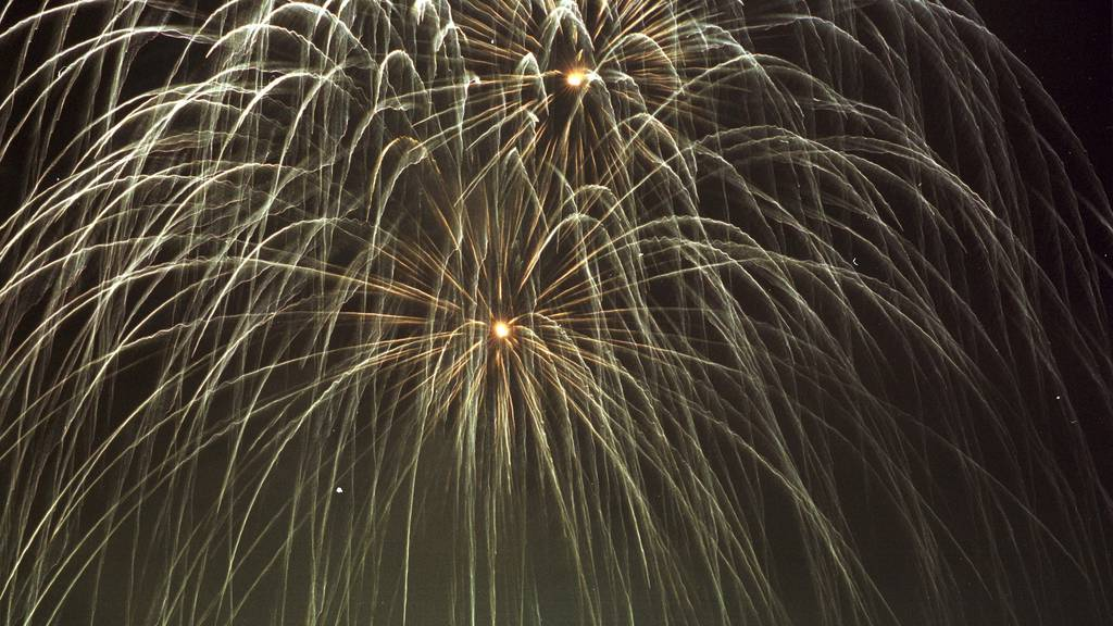 Die Stadtpolizei St.Gallen hat ein grosses Feuerwerk bewilligt.