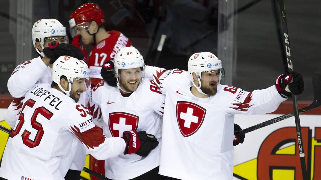 Schweiz putzt Tabellenschlusslicht Belarus mit 6:0 vom Eis
