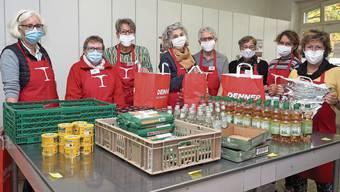 Seit Juni arbeiten die Helferinnen des Frauenvereins Rheinfelden mit Masken.