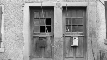 Solche Doppeltüren geben dem Projekt den Namen. Mit ihnen wurde in Endingen und Lengnau einst eine Bestimmung umgangen, wonach Juden und Christen nicht beieinander wohnen sollten.