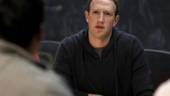 Facebook-CEO Mark Zuckerberg hat nach eigenem Ermessen fast jeden Fehler gemacht, den man sich denken kann. (Archivbild)