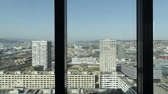 Vermögensverwalter in der Schweiz haben noch immer die Nase vorn, bekommen aber Konkurrenz. (Archivbild aus dem Fenster des Vermögensverwalters GAM in Zürich).