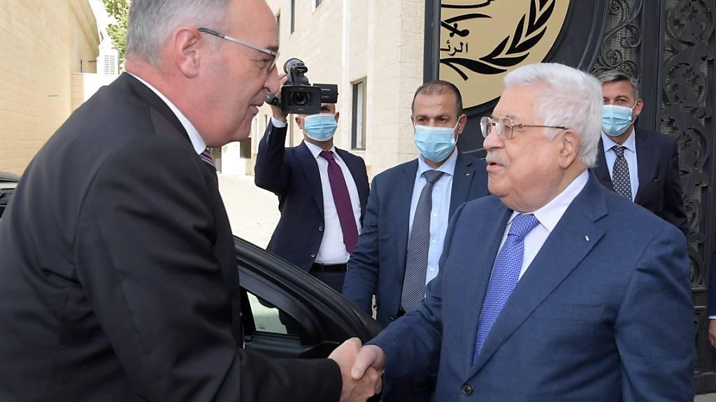Parmelin wirbt in Israel für eine Zwei-Staaten-Lösung