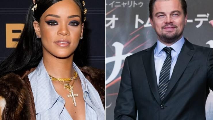 Ist etwas dran an den Gerüchten, Rihanna und Leonardo DiCaprio seien ein Paar? (Archivbilder)