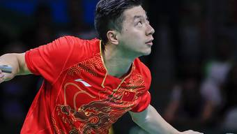 Ma Long demonstriert Power und grosses Können