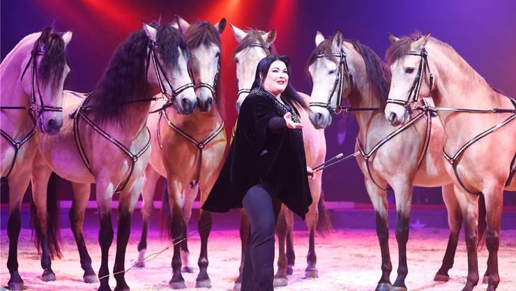 Pferde und ihre Familie: Das sind die grossen Leidenschaften von Géraldine Knie (45).