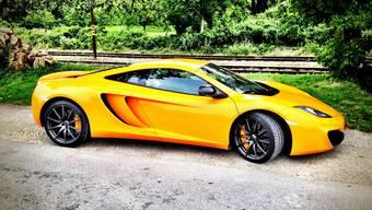 Mischt bei den Supersportwagen mit: McLaren MP4-12C.