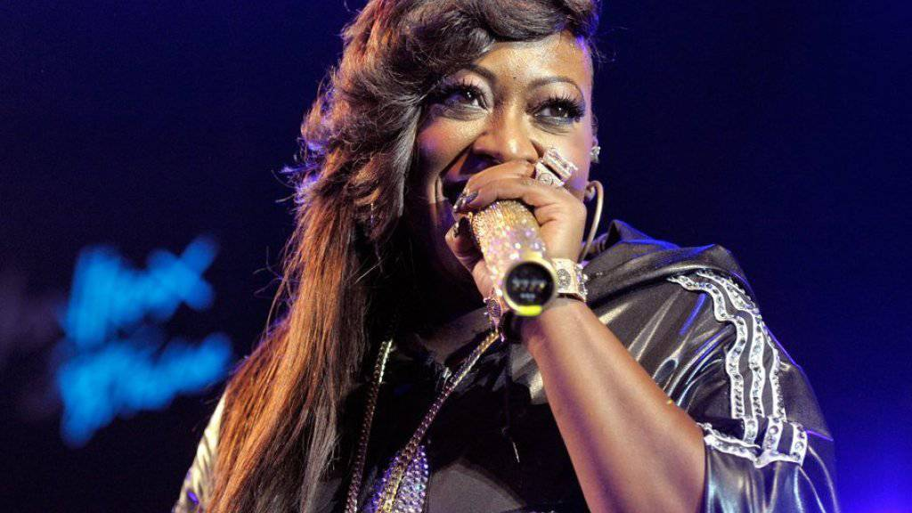 Missy Elliott am Jazzfestival in Montreux (Aufnahme von 2010).