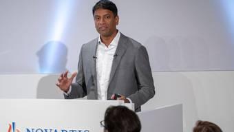 Novartis, das Unternehmen von CEO Vas Narasimhan, muss amerikanischen Behörden insgesamt 337 Millionen Strafe zahlen.