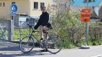 Andreas Wolf erstellte eine Mängelliste für den Fuss- und Veloverkehr in Dietikon aufgrund der Limmattalbahn-Baustelle