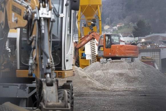 Die Tessiner Regierung beschloss die Schliessung der Baustellen – wurde dann aber vom Bund zurückgepfiffen.