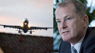 Der Aargauer Regierungsrat Stephan Attiger ist mit der Anpassung der Luftfahrt nicht ganz zufrieden. (azMontage)