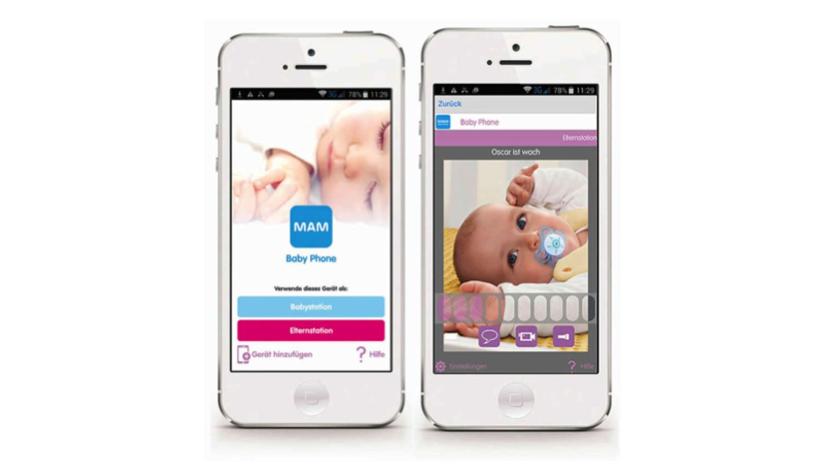 Printscreen MAM Baby Phone