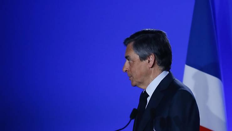 François Fillon hält an seiner Kandidatur fest (Archiv)