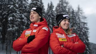 Nadine Fähndrich (25) macht das Weltcup-Debüt ihres vier Jahre jüngeren Bruders Cyril nervöser als der eigene Auftritt im Sprintrennen.
