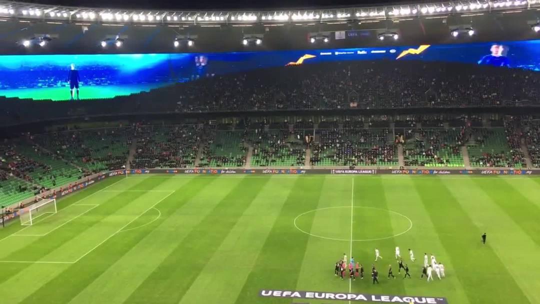 Krasnodar vor dem Match