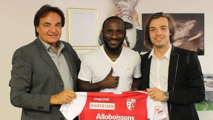 Ex-FCB-Stürmer Seydou Doumbia wechselte im Sommer zum FC Sion.