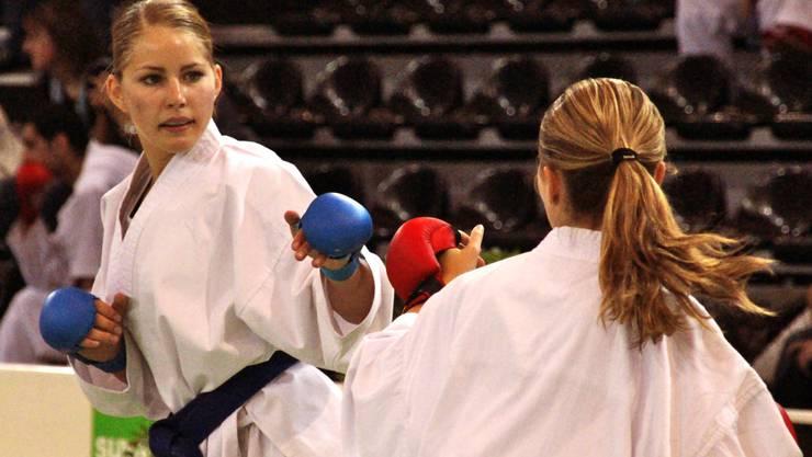 Zoe Hartmann möchte einmal in der Champions League der Karatekas kämpfen. zvg