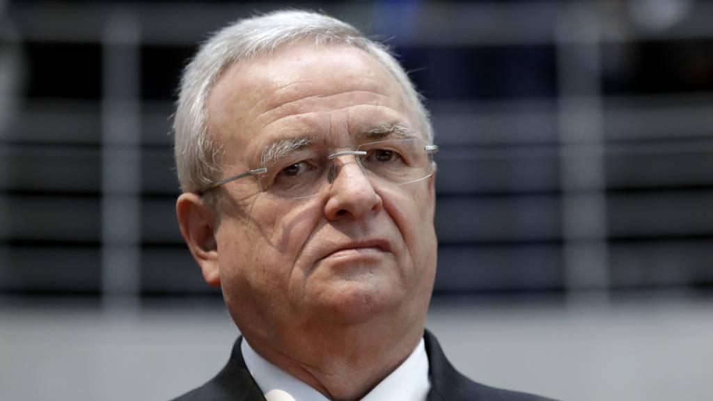 Ex-VW-Chef Winterkorn muss wegen Marktmanipulation vor Gericht
