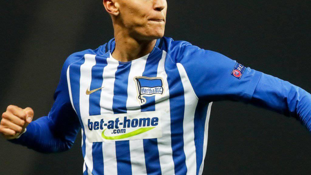 Davie Selke traf für Hertha Berlin zweimal