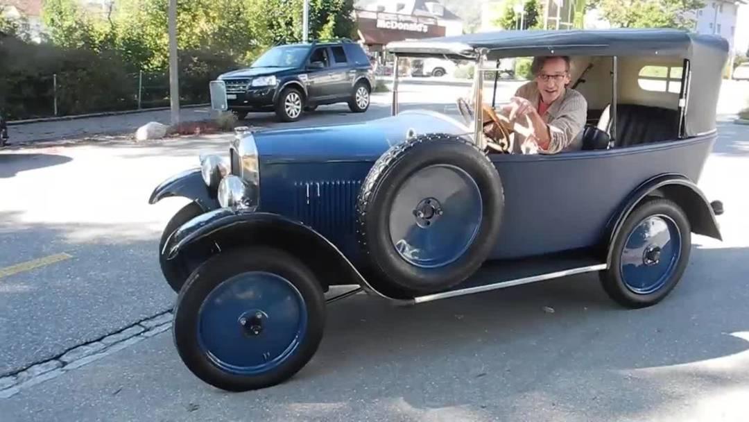 Kleine Runde mit dem Peugeot Jahrgang 1925