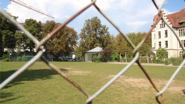 2018 bis 2022 wird die Ländliwiese Standort des Schulprovisoriums. -rr-