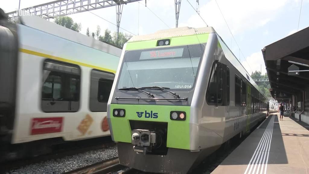 Klimaanlagen in BLS-Zügen sind noch immer kaputt