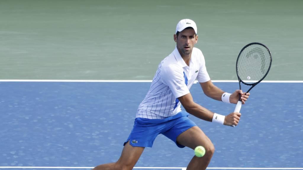 Novak Djokovic weiter ungeschlagen