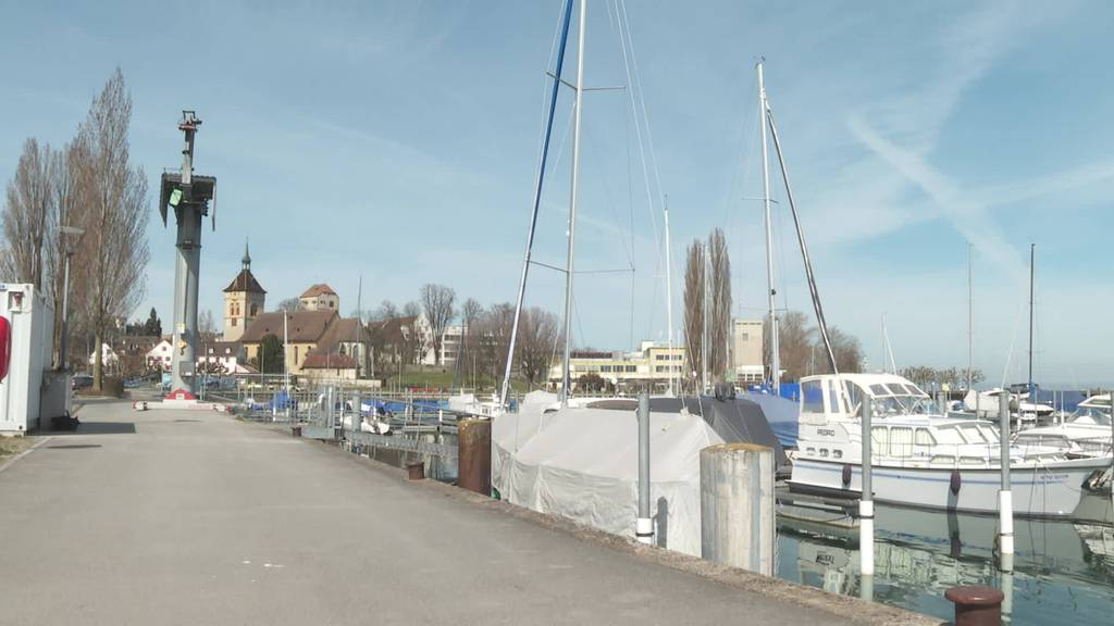 Kleinkrieg am Hafen: Arbon will neues Kranreglement