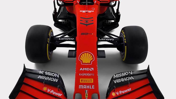 Der neue Ferrari SF90 wurde mit grossem Prunk in Maranello präsentiert