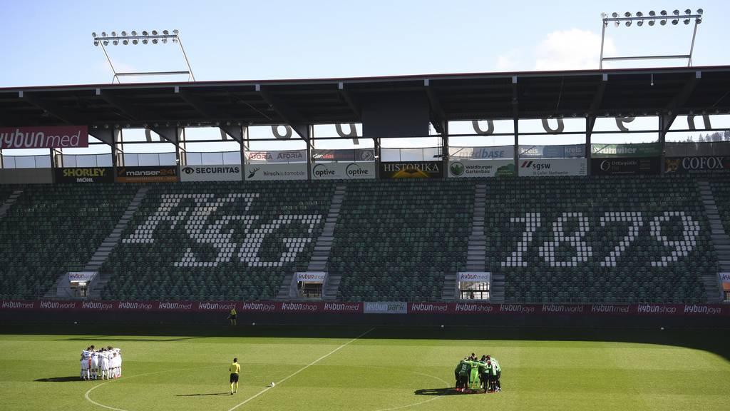 FCSG will Stadion ab Oktober mit 11'500 Zuschauern füllen