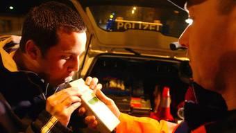 Der Alkoholtest beim 33-Kosovaren ergab einen Wert von 1,5 Promille. (Symbolbild)