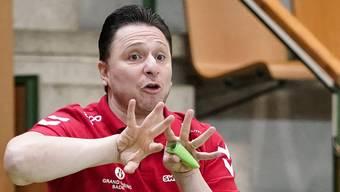 TVE-Trainer Zoltan Majeri.