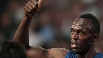 Usain Bolt feierte in Tschechien seinen zweiten Saisonsieg