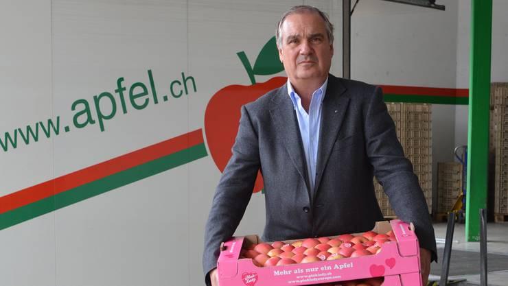 Sein Urgrossvater legte den Grundstein für das Familienunternehmen: Markus Füglister, Geschäftsleiter der Charles Füglister AG. Hae