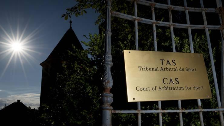 Das internationale Sportgericht (CAS) in Lausanne. Hier wird weiter über den Fall entschieden.
