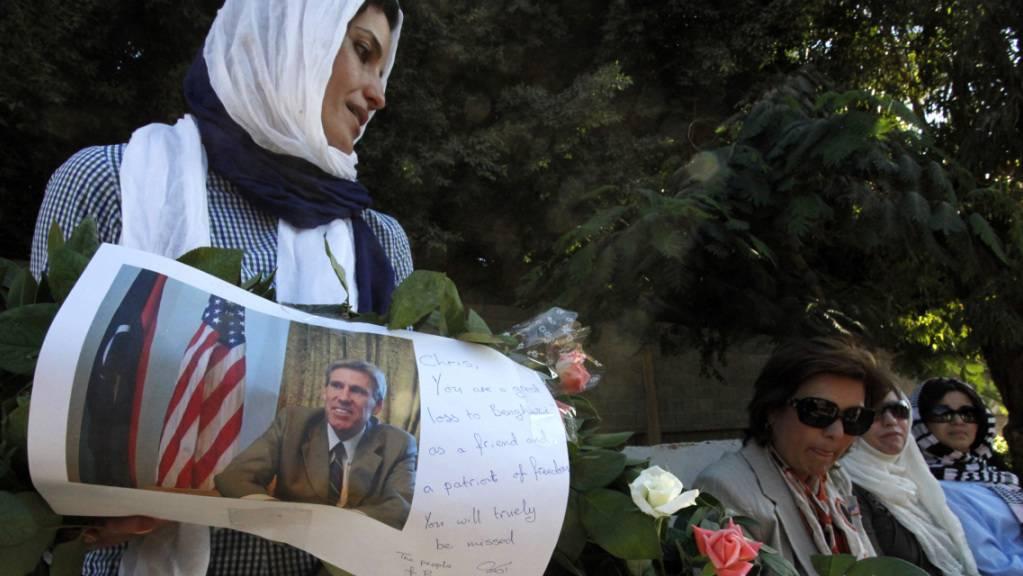 Trauer um den beim Anschlag getöteten US-Botschafter Chris Stevens. (Archivbild)