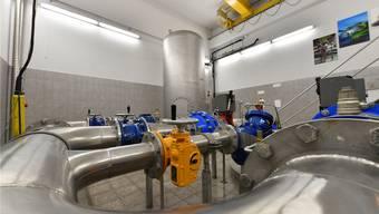 Ein Blick in die Grundwasserfassung im Oltner Gheid: Diese spielt eine wichtige Rolle im regionalen Wasserversorgungsplan Olten-Gösgen.