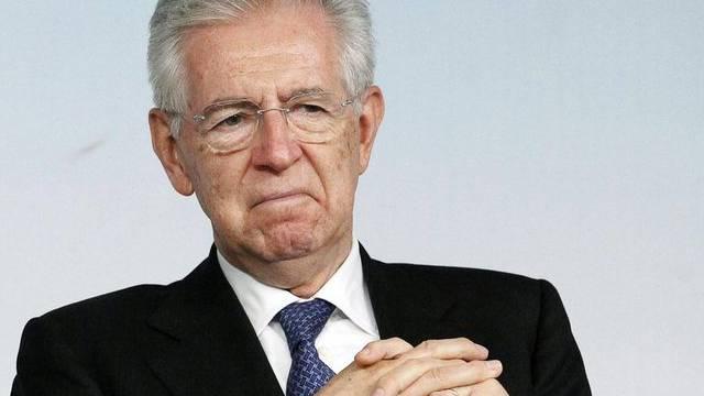 Mario Monti will die Vergütung von Politikern einschränken