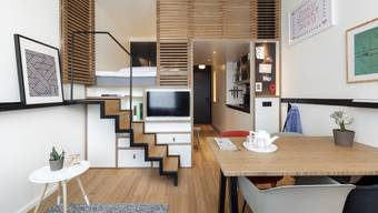 In den Städten wird es zunehmend enger: Deshalb entstehen nun auch mehr Mini-Wohnungen.