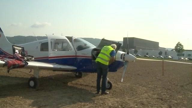 Sportflugzeug muss notlanden