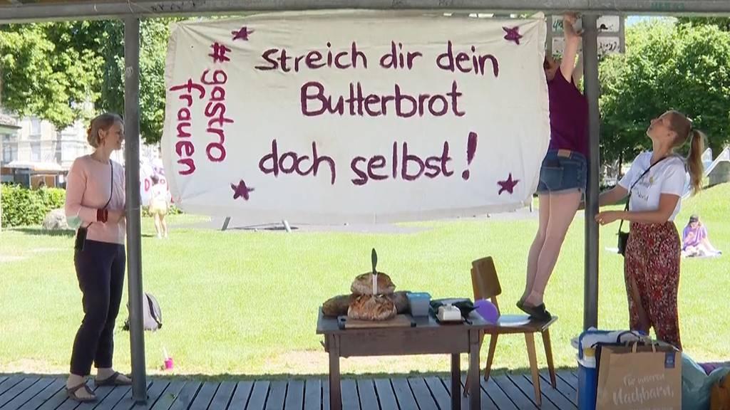 Zürich, Bern, Luzern: So hat der nationale Frauenstreik 2021 begonnen
