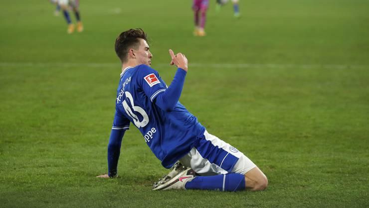 Ein ganz grosser Tag für Matthew Hoppe: Der 19-jährige Amerikaner erzielte gegen Hoffenheim das 1:0, 2:0 und 3:0.