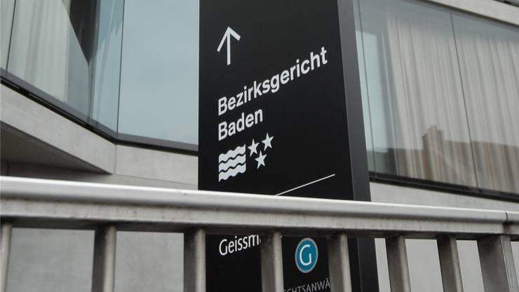Heute vor einer Woche musste sich der Forensik-Chef der Kantonspolizei Aargau vor dem Bezirksgericht Baden verantworten. (Archivbild)