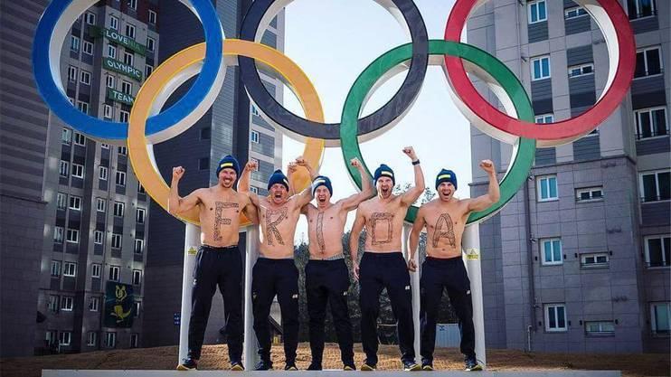 Slalom-Nation Schweden: Frida Hansdotter siegt. Das Männer-Team jubelt mit. Und Wendy Holdener? Hat jemand «ewige Zweite» gerufen? Die Faust fliegt!