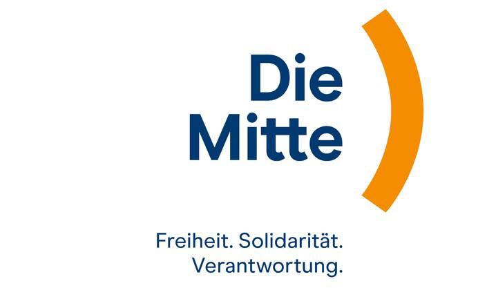 So sieht das Logo der neuen Partei «Die Mitte» aus.