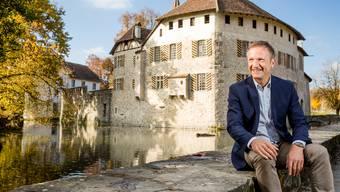 Marco Castellaneta, Direktor Museum Aargau: «Ich glaube, dass wir Orte wie das Schloss Hallwyl brauchen. Auch, weil sie uns in der zunehmend fragmentierten und digitalisierten Gesellschaft als kontemplative Oase einfach guttun.»