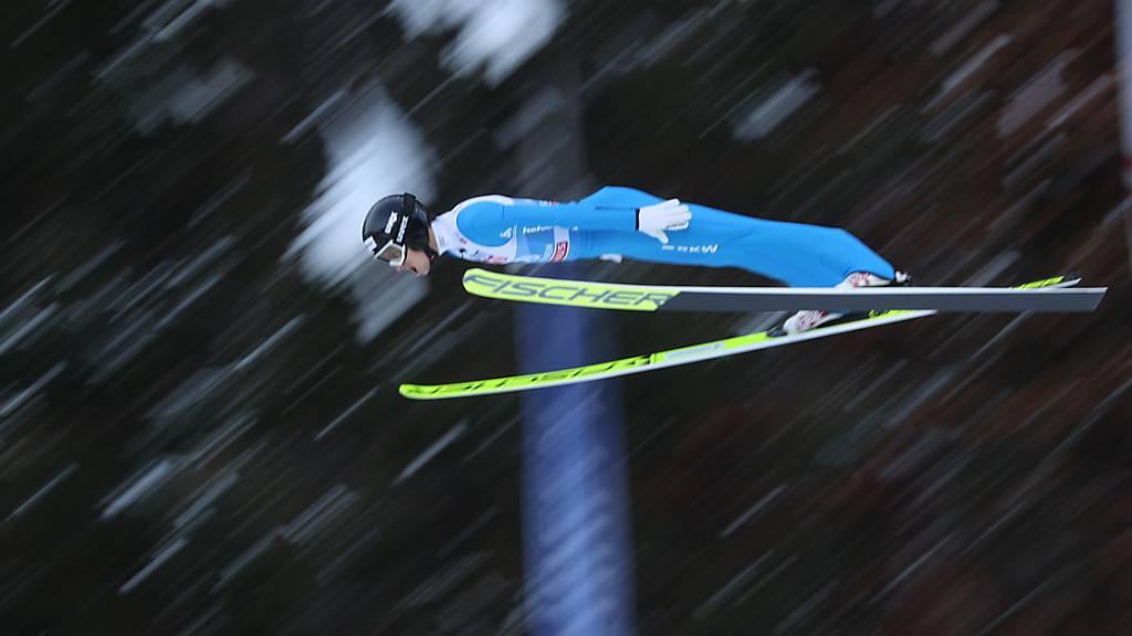 Gregor Deschwanden im 10. Rang bei der WM-Hauptprobe